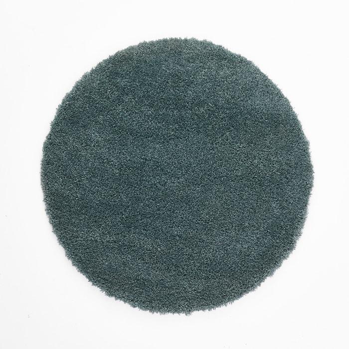Afaw Round Shaggy Wool Effect Rug