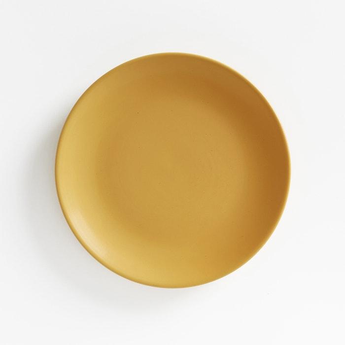 Image Assiette à dessert en faïence finition mate (lot de 4), Mélya La Redoute Interieurs