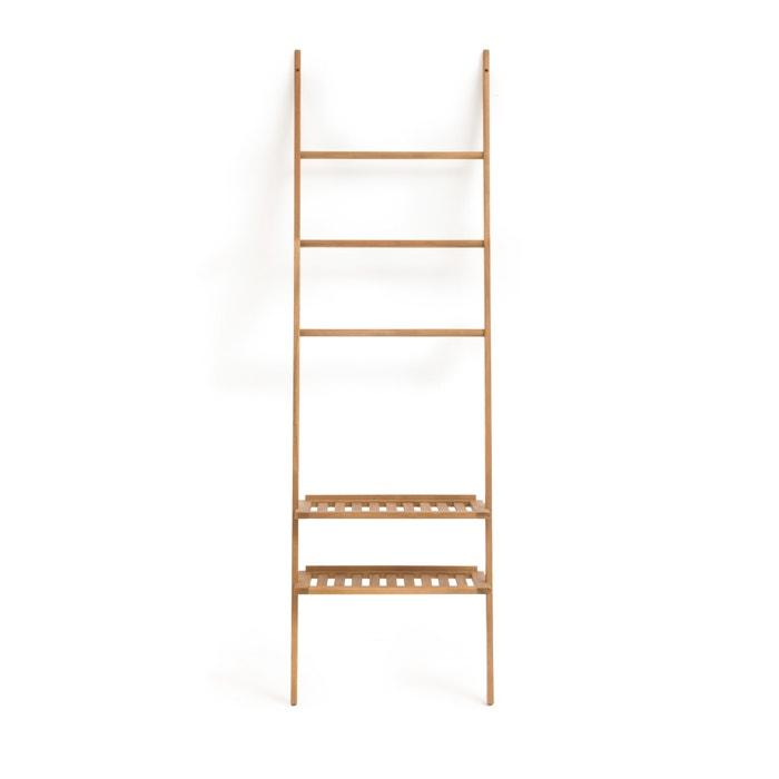 Amazing Acacia Wooden Bathroom Ladder Style Shelving Unit Acacia Interior Design Ideas Clesiryabchikinfo