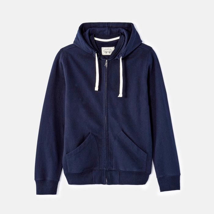 Fepig Zip-Up Hooded Sweatshirt