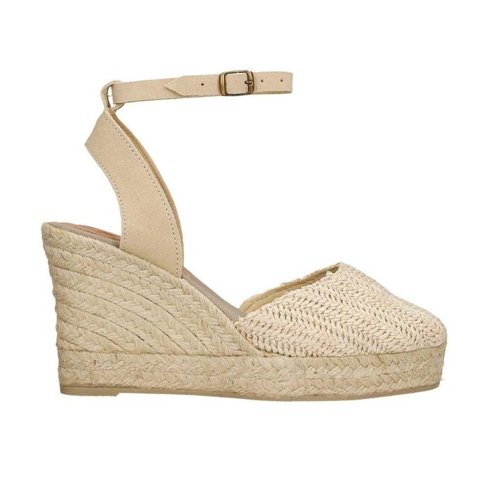 Jeu En Ligne Pas Cher Réel Réduction Fiable Sandale lia beige Polka Shoes izU1spnf3v