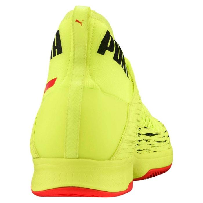 Chaussure de foot evospeed netfit euro 1 indoor yellow-red-black Puma