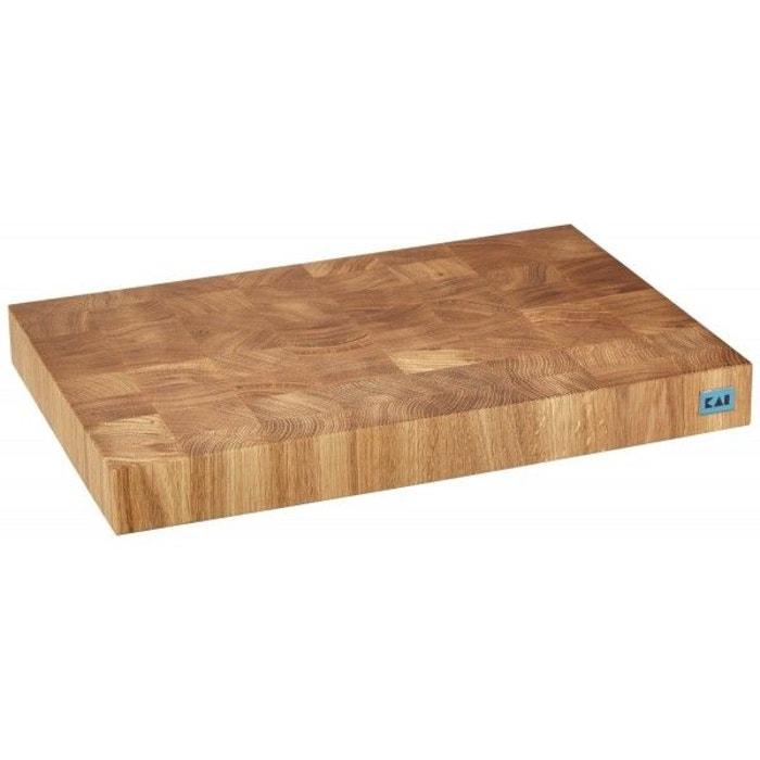 planche d couper kai en ch ne 39x26cm pieds antid rapants bois kai la redoute. Black Bedroom Furniture Sets. Home Design Ideas
