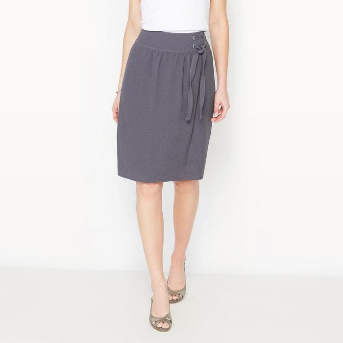 Crêpe Wrapover Style Skirt  ANNE WEYBURN image 0