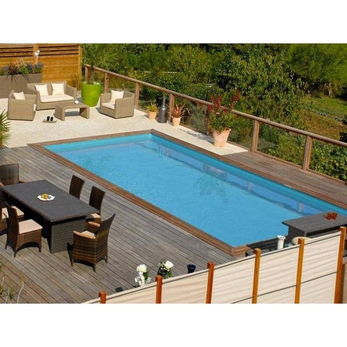 la redoute piscine interesting piscine intex tubulaire en solde piscine hors sol en solde la. Black Bedroom Furniture Sets. Home Design Ideas