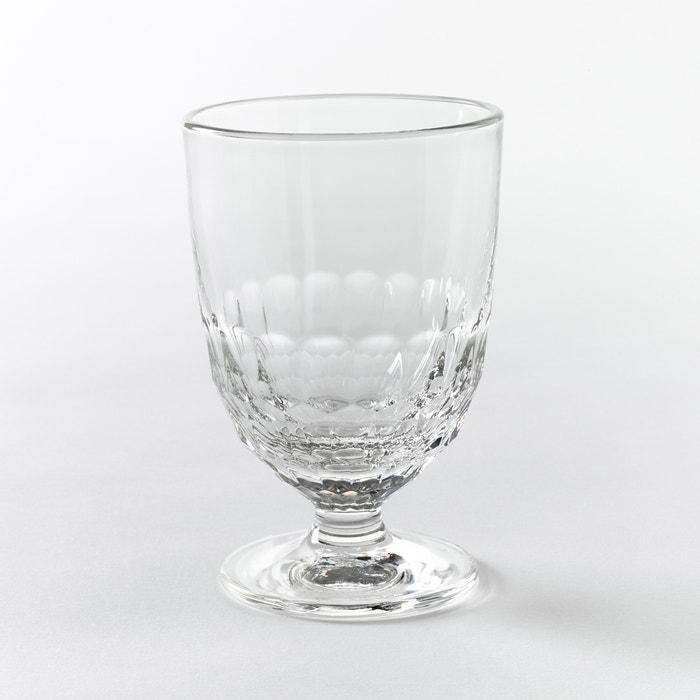 Set of 6 Artois Honeycomb Water Glasses