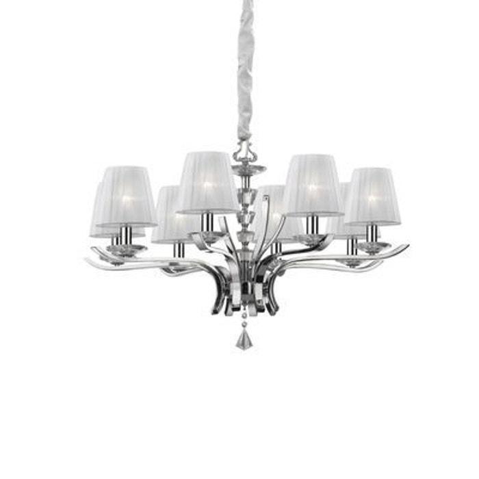 lustre pegaso 8x40w ideal lux 059242 boutica design la redoute. Black Bedroom Furniture Sets. Home Design Ideas