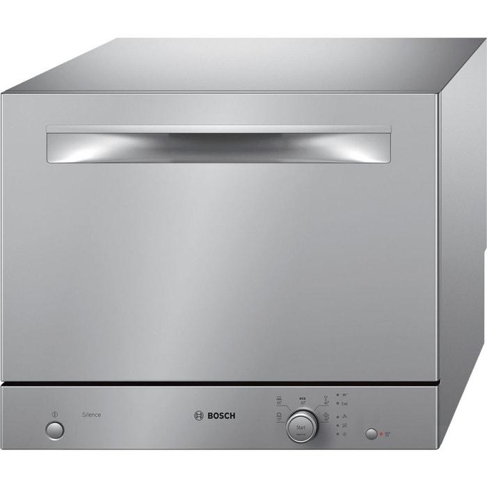 Lave vaisselle compact bosch sks51e28eu inox bosch la - Lave vaisselle compact 6 couverts ...