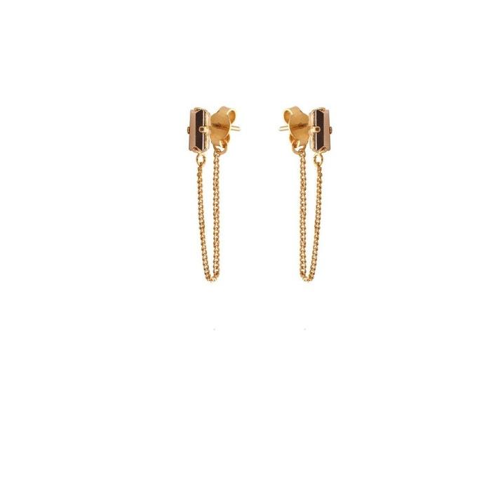 Acheter Recommande Pas Cher Boucles d'oreilles dorées rose gold palace beige Caroline Najman | La Redoute Acheter Des Sites Web À Bas Prix 0RLvp