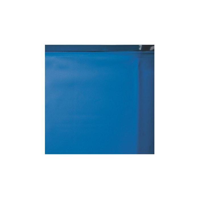 Liner seul bleu avec rail pour piscine ronde 5 50 m x 1 for Liner piscine ronde 5 50