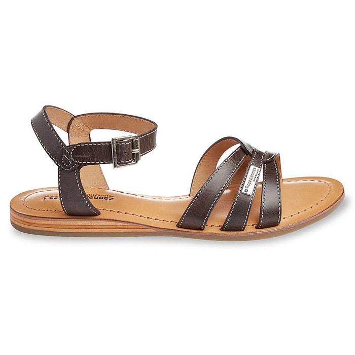 flat leather sandals les tropeziennes par m belarbi la redoute. Black Bedroom Furniture Sets. Home Design Ideas