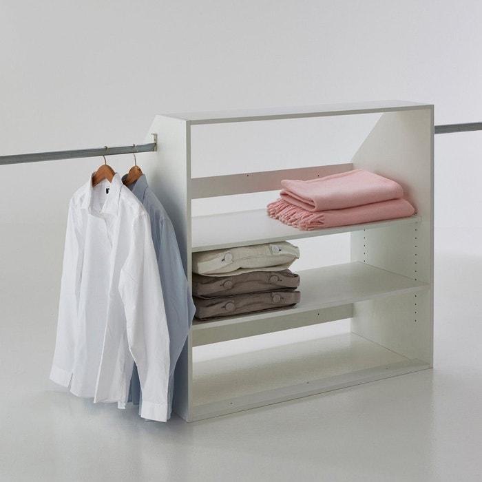 affordable la redoute interieurs module dressing spcial souspente rsima la redoute with support. Black Bedroom Furniture Sets. Home Design Ideas