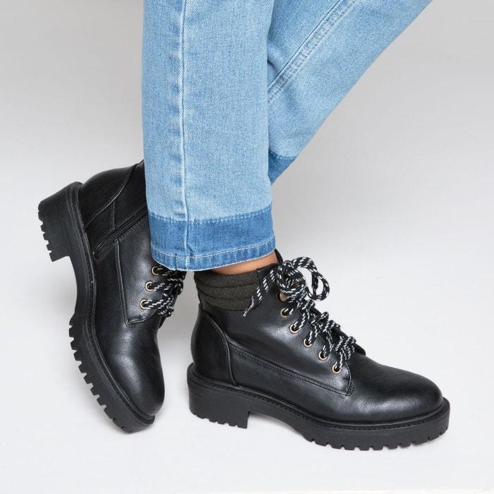 Boots esprit montagne semelle crantée La Redoute Collections