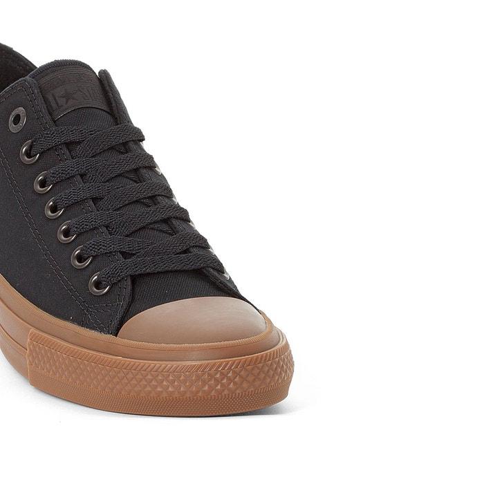 Baskets ctas ii ox tencel canvas noir Converse
