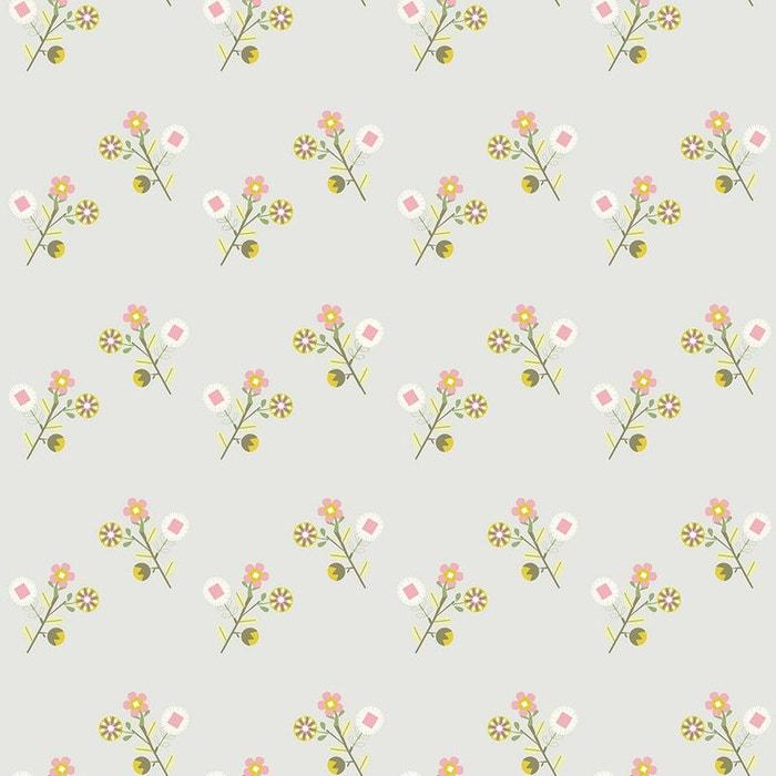 Le De Papier Peint Fleurs Vintage Multi Lilipinso La Redoute