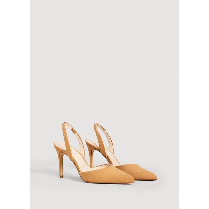 Chaussures à talons avec bride arrière Mango