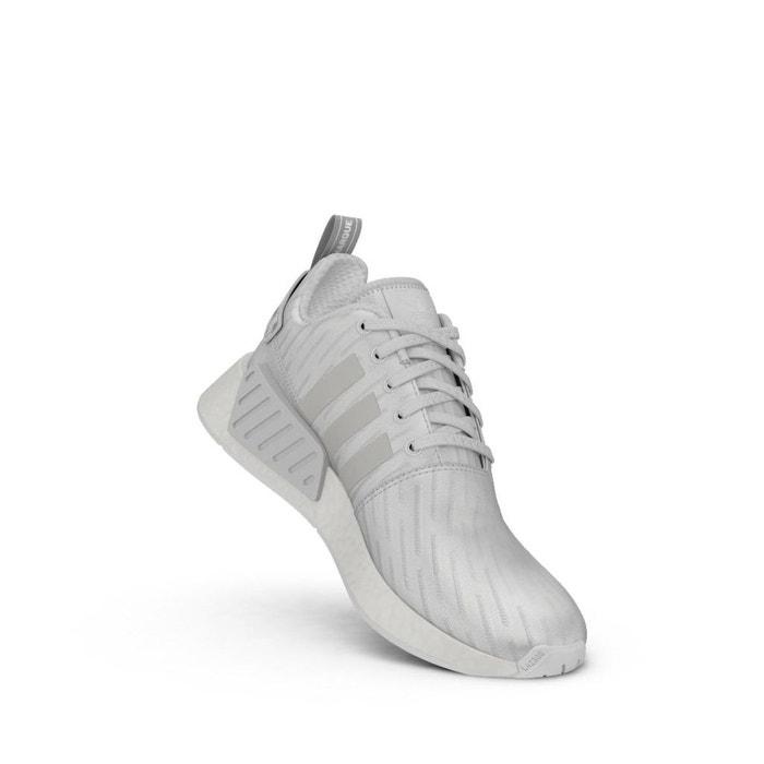 Chaussures adidas nmd r2 w by2245 blanc Adidas Originals
