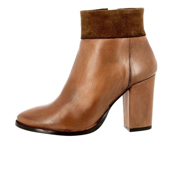 Chaussures à lacets synthétique  marron Maria Mare  La Redoute
