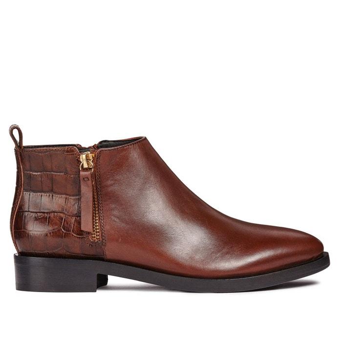 GEOX Boots BROGUE DONNA Boots BROGUE GEOX DONNA qr1IqBw6