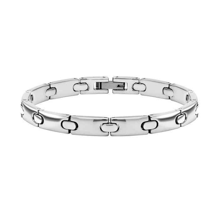 Bracelet acier argente Rochet | La Redoute Nouveau Véritable Prix Pas Cher Acheter Pas Cher Livraison Rapide PPW29CbUNq