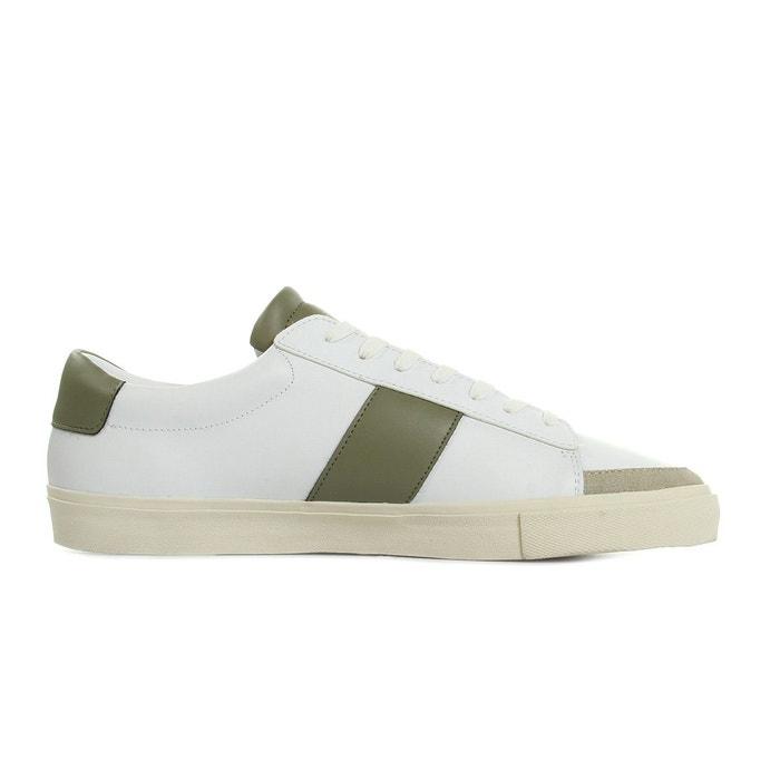 Gusten leather/suede green blanc + kaki Jim Rickey