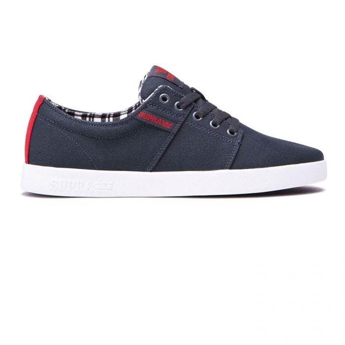 Chaussures stacks ii dark grey-white gris Supra
