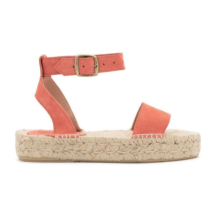 Sandale susan  corail Polka Shoes  La Redoute
