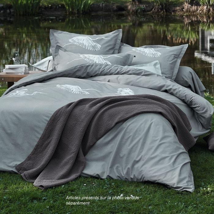 taie imprim e au bord du lac sylvie thiriez la redoute. Black Bedroom Furniture Sets. Home Design Ideas