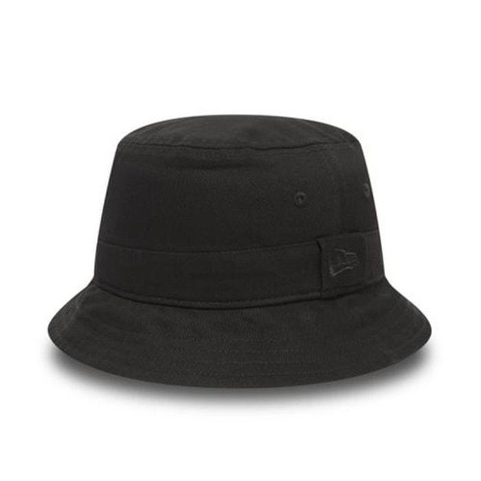 bob new era seasonal bucket basique noir noir new era cap la redoute. Black Bedroom Furniture Sets. Home Design Ideas