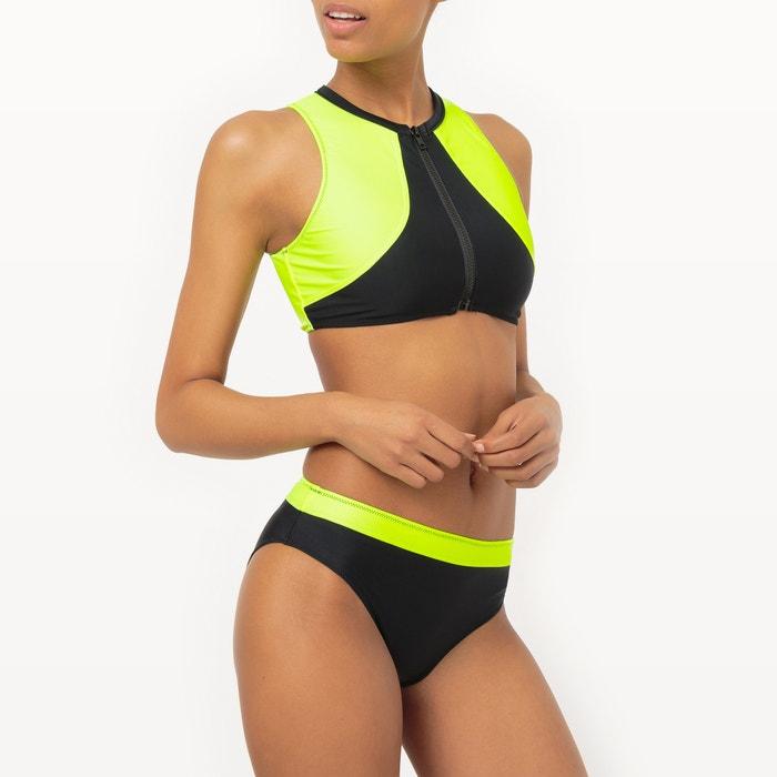 250;or cremallera La con fl Redoute de top Malagola bicolor bikini x Sujetador Sophie Uf7wqw