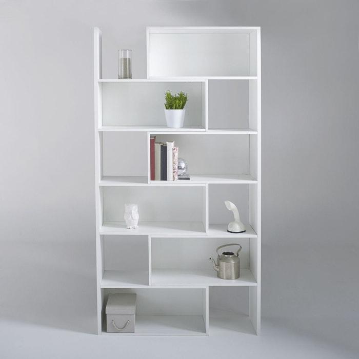 Biblioth que extensible hauteur 2 m tres everett blanc la redoute interieurs - La redoute bibliotheque ...