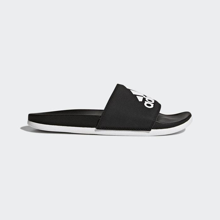 Sandale adilette cloudfoam plus  noir Adidas  La Redoute