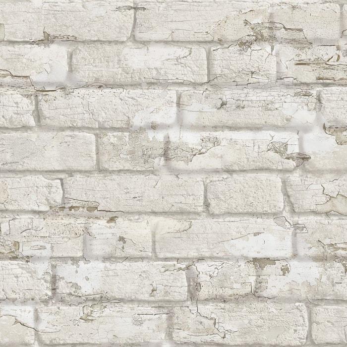 Papier Peint Briques Ecaillees Koziel La Redoute