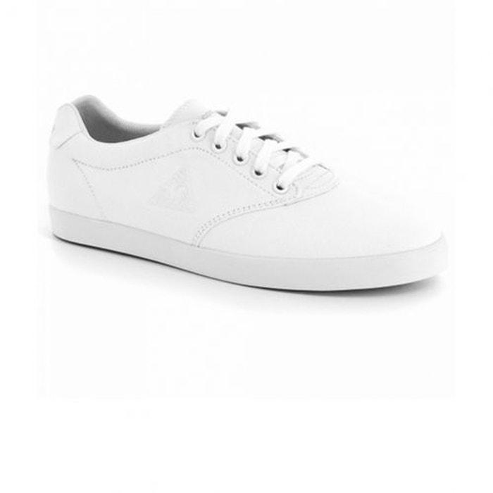 Chaussures lamarina canvas optical white w  blanche Le Coq Sportif  La Redoute