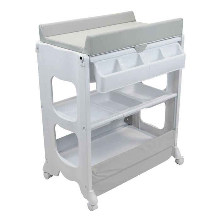 table langer avec baignoire et rangements monsieur bebe. Black Bedroom Furniture Sets. Home Design Ideas
