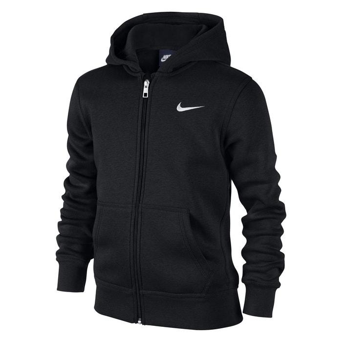 Sweat zippé à capuche 6 - 16 ans noir Nike   La Redoute 7cea212c1448