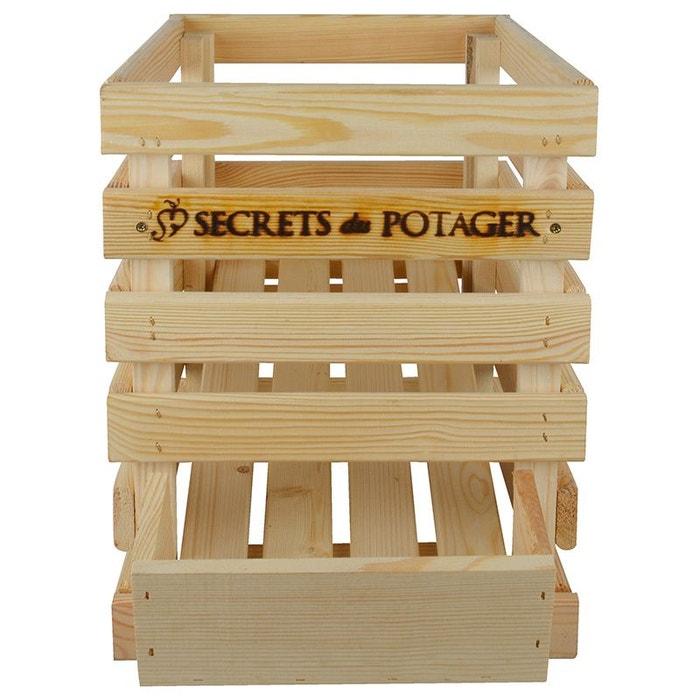 Caisse à oignons en bois esschert design 1
