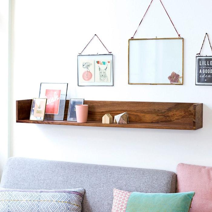 etag re murale en bois de palissandre villa couleur unique tikamoon la redoute. Black Bedroom Furniture Sets. Home Design Ideas
