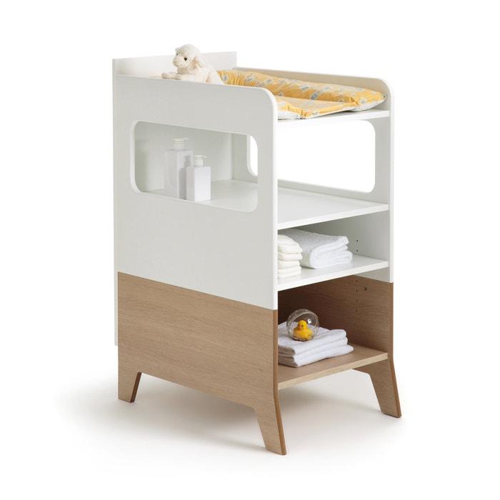 table langer archipel la redoute interieurs bois blanc la redoute. Black Bedroom Furniture Sets. Home Design Ideas