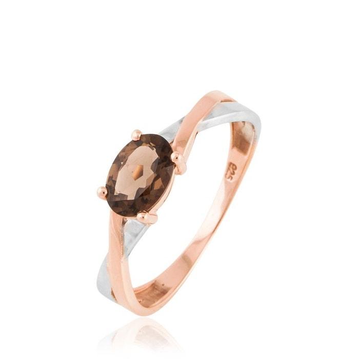 Bague or et quartz bicolore Histoire D'or | La Redoute Acheter Pas Cher Confortable et6Mwap