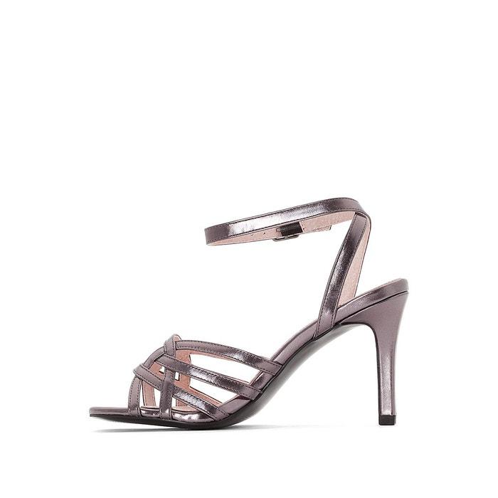 Sandales cages métallisées Mademoiselle R