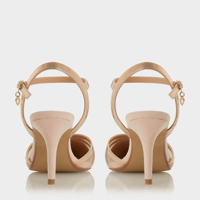 Escarpins mi-talons à bout pointu et brides multiples - corolina Head Over Heels By Dune