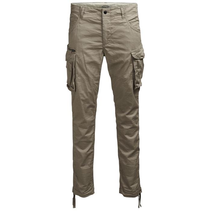 Image Pantaloni cargo JJIPAUL JJCHOP in cotone stretch JACK & JONES