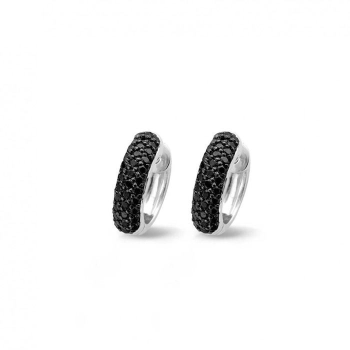 Boucles d'oreilles femme 7225zb noir Ti Sento | La Redoute Hyper En Ligne 6tpB5Hgqz