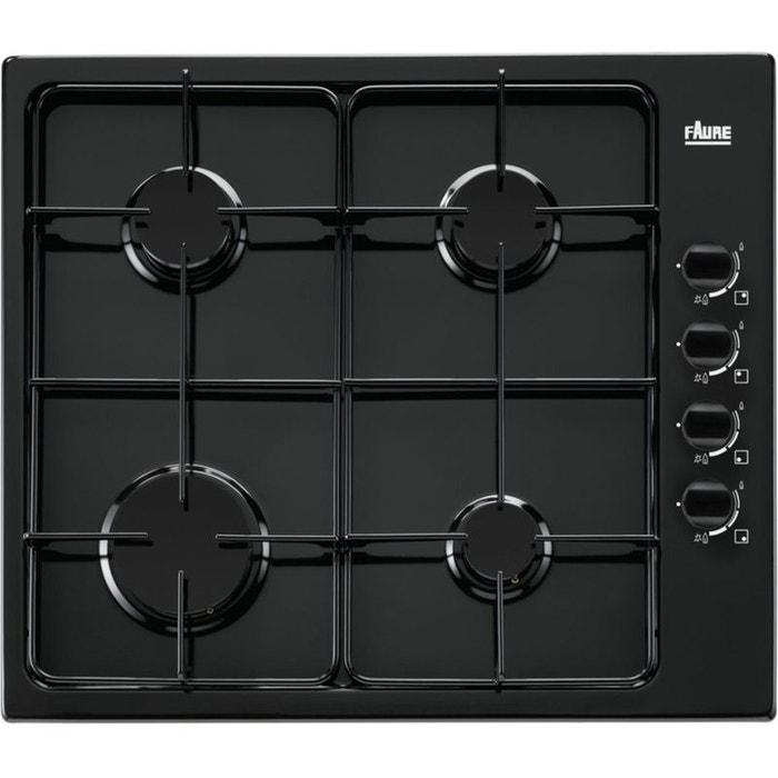 faure table cuisson gaz fgg62414ba noir couleur unique faure la redoute. Black Bedroom Furniture Sets. Home Design Ideas