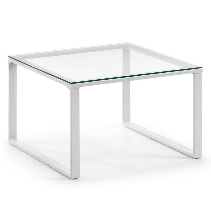 table basse sivan 60x60 cm blanco neutro kavehome la redoute. Black Bedroom Furniture Sets. Home Design Ideas