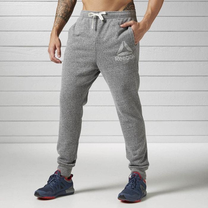 Pantalon elements snow melange gris Reebok Sport  2bee91dba92