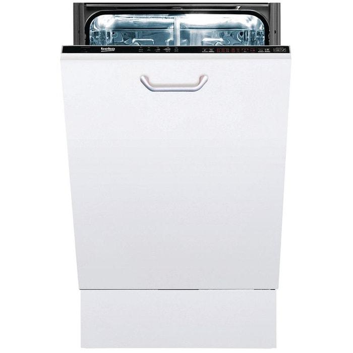 Lave vaisselle tout int grable beko pdis26020 tout int grable beko la redoute - La redoute lave vaisselle ...