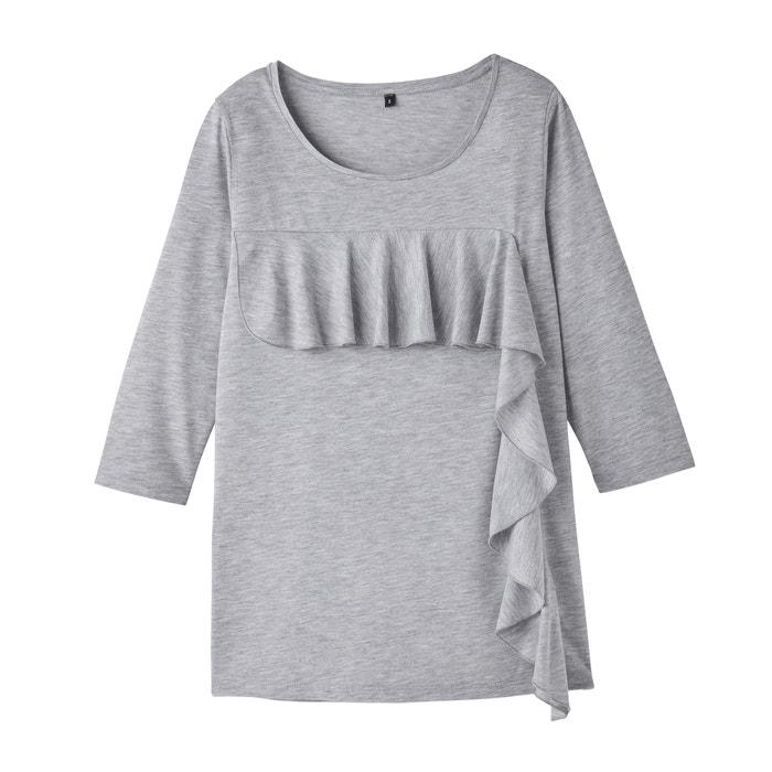 Image Tee-shirt avec empiècement de volant R édition
