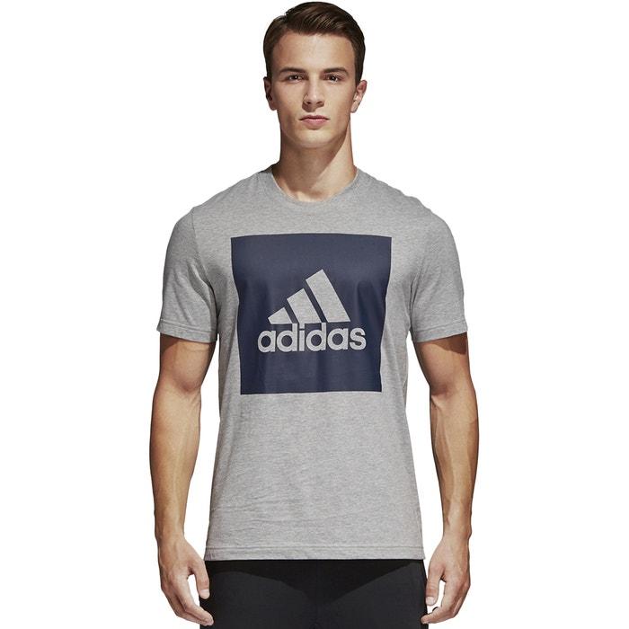 Crew Neck T-Shirt with Motif  ADIDAS PERFORMANCE image 0
